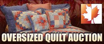 oversized quilt auction